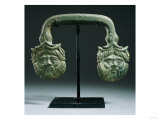 An Etruscan Bronze Handle, Circa Late 5th-Early 4th Century B.C. Prints