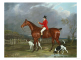 A Huntsman and Hounds, 1824 Giclee Print by Federico Ballesio