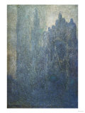 Rouen Cathedral in the Fog, 1894 Posters by Eugène Boudin