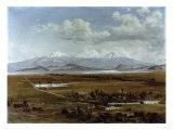 Valle De Mexico, 1891 Giclee Print by Jose Maria Velasco