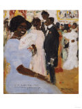 Negro Ball, 1912 Prints by Jose Agustin Arrieta