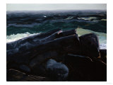 Evening Sea, 1913 Premium Giclee Print by George Wesley Bellows