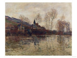 The Flood at Giverny, 1886 Giclee Print by Alfred Thompson Bricher