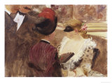 La Loge Prints by Mary Cassatt
