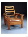 An Oak Morris Chair, Model 4124, 1912 Prints