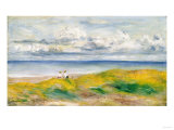 On the Cliffs, 1880 Giclee Print by Pierre-Auguste Renoir