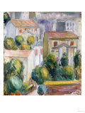 House at Cagnes Impression giclée par Eugène Boudin