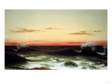Sunset, 1861 Prints by Martin Johnson Heade