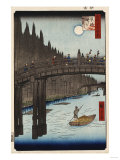 Moon Viewing Pine, Ueno' from 'One Hundred Views of Famous Places in Edo' Giclee Print by Hashiguchi Goyo
