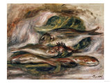 Fish, Circa 1919 Art by Eugène Boudin