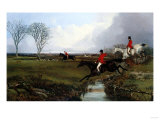 Crossing a Brook Giclee Print by Giovanni Battista Benvenuti