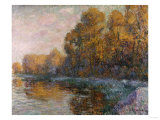 River in Autumn, 1909 Prints by Eugène Boudin