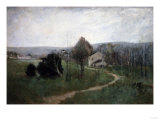 The Winding Path, 1885 Giclee Print by George Wesley Bellows