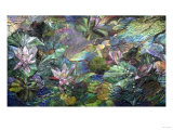 A Fine Mosaic Panel Giclee Print by Tani Bunchu