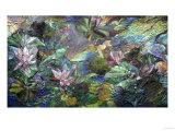A Fine Mosaic Panel Giclee Print by Tani Bunchu