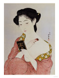A Woman in Underclothes, 1918 Giclee Print by Hashiguchi Goyo