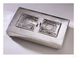 An English Silver Inkstand with Opals, Liberty &amp; Co., Birmingham, 1904 Giclee Print by Maurice Bouval
