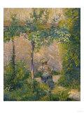 Woman in the Garden Posters by Henri Edmond Cross