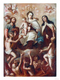 Madonna and Child Giclee Print by Jose Agustin Arrieta