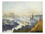 St. Catherine's Mountain, Rouen Prints by Eugène Boudin