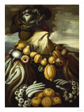 Winter, One of the Four Seasons Giclee Print by Adler &amp; Sullivan 