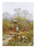 An Old Well, Brook, Surrey Posters by Helen Allingham