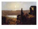Study for Lake Nemi Giclee Print by Eugène Boudin