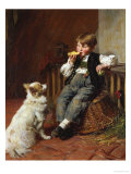 Lunch Time Giclee Print by William Bradford