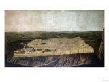 A Panoramic View of Jerusalem Print by Filipo Or Frederico Bartolini