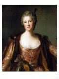 Portrait of Theodore Elisabeth, Catherine De Besenval, Marquise De Broglie, 1742 Giclee Print by Hendrik Avercamp