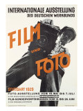 Film and Photo, Film Und Foto, Exhibition Poster, Artist Unknown, 1929 Giclee Print