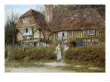 A Kentish Cottage Posters by Helen Allingham