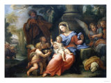The Rest on the Flight into Egypt Giclee Print by Jan Brueghel the Elder