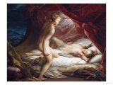 Cupid and Psyche Giclee Print by Vincente Carducho