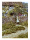 At Sandhills Poster by Helen Allingham
