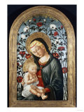 The Madonna and Child with Roses (Late 15th Century) Giclee Print by Cleofas Almanza