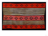 A Transitional Navajo Woman&#39;s Blanket Reproduction proc&#233;d&#233; gicl&#233;e