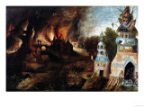 The Temptation of St. Anthony Giclee Print by Cristofano Allori