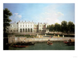 Old Somerset House from the River Thames, London Giclee Print by Sir Lawrence Alma-Tadema
