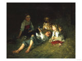 New Friends, 1877 Giclee Print by Joseph Bail