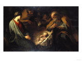 The Adoration of the Shepherds Prints by Hendrik Avercamp