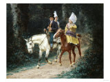An Afternoon in the Woods, 1898 Giclee Print by Arnold Boonen