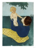 Under the Horse Chestnut Tree, 1896-7 Prints by Mary Cassatt