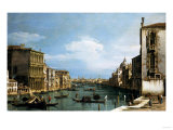 The Grand Canal, Venice, Looking East from the Campo Di San Vio Giclee Print by Arnold Boonen
