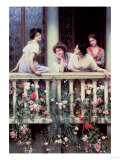 The Balcony, 1911 Giclee PrintSir William Beechey
