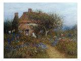 A Cottage Near Brook, Witley, Surrey Helen Allingham 1848-1926 Prints by Helen Allingham