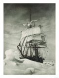 Terra Nova Icebound, British Antarctic Expedition, Circa 1910 Giclee Print by Eugene Atget