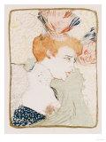 Mademoiselle Marcelle Lender En Buste, 1895 Prints by Mary Cassatt