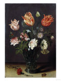 Tulips with Other Flowers in a Glass on a Table Posters by George Wesley Bellows