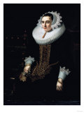 Portrait of a Lady, Aged 21, Said to be Princess Sohns, 1625 Prints by Jean Béraud